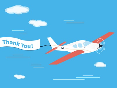 Thanks for subscribing! website thank you ed aeroplane