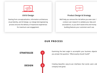 APAX Software Services services page custom apps custom websites custom software website process services timeline shadow icons illustration ui user experience