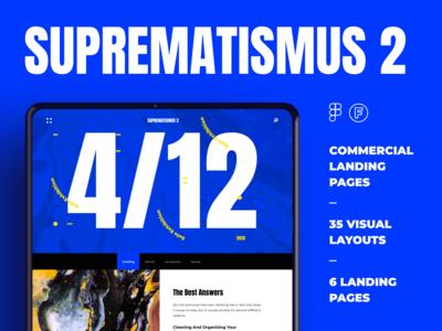Suprematismus 2 -Landing Kit