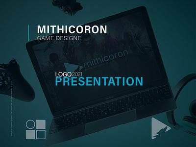 Mithicoron   Rebranding logo branding