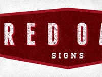 RED OAK SIGNS