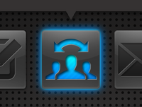 Buttons in development web app icon icons button design ui