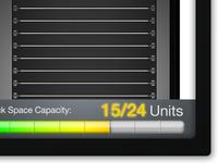 RackBuilder Capacity Gauge