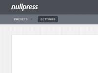 Nullpress