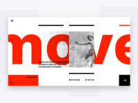 Move landing page