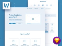 Wireland - Wireframe Library Collection