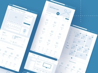 Wireland for e-commerce | Wireframe UI Kit