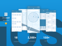 Wireland iOS Wireframe Kit - 144+ App Screens for Sketch