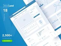 Wireframe UI Kit for E-commerce