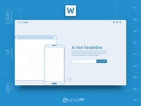 Wireframing Template for Web Design Projects