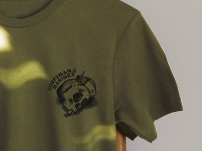 8th and I Front illustration military design t-shirt