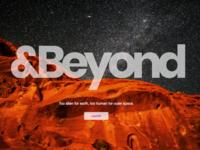 &Beyond Landing Page