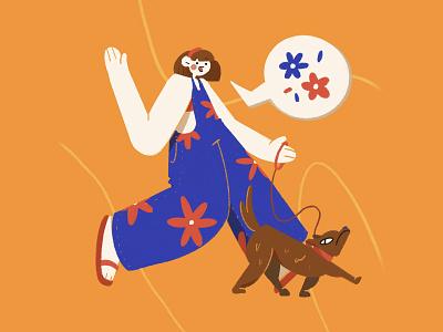 🌼🐕🌼 doggo dog animal character photoshop illustration design