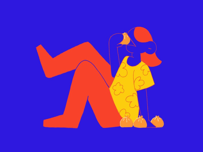 Baozi baozi bao character photoshop illustration design