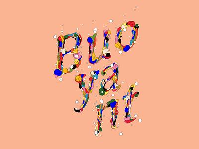 Buoyant typography