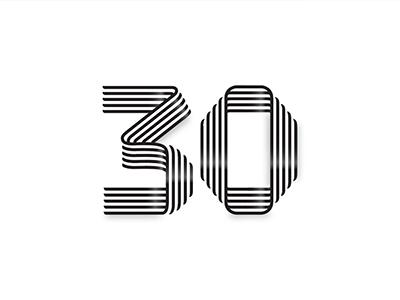 30 Year Anniversary Badge