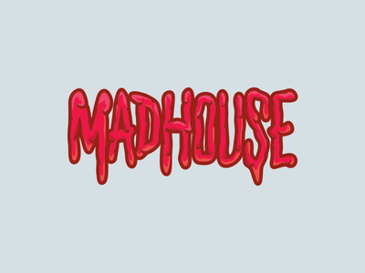 Red Bull Mad House 2/3 bmx illustration red bull