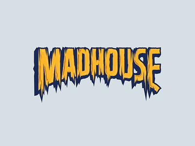 Red Bull Mad House 3/3 bmx illustration red bull