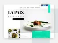 Starred restaurant website