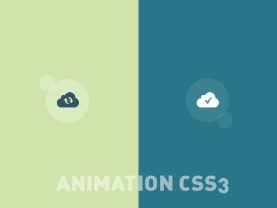 Animated Icons - animation CSS animation css3 paradise lost