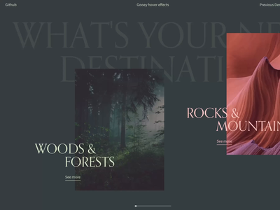 Gooey Image Hover Effects