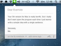 Dear Evernote