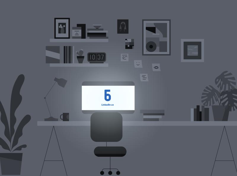 Work Anniversaries 6-10 linkedin anniversary work linkedinux