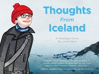 Thoughts From Iceland Cover Design