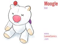 Moogle Doll Illustration