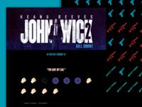 John Wick 2 - Kill Count Infographic