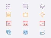 'Features' Icon Set - Part 1
