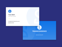 Transcendence - Business Cards