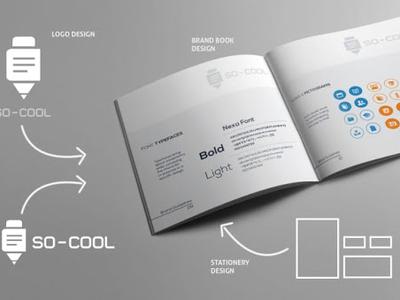 So Cool Brand layout app icon branding logo design vector corporate branding advertise typography illustration identity design brand identity design promotion identity brand and identity graphic graphics logo brand design