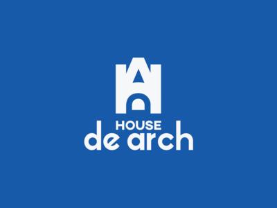House De Arch - Branding corporate branding advertise design vector brand identity design logo design identity design graphics graphic logo a day busines logo brand and identity brand board branding