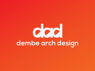 Dembe Arch Design graphic brand logo design advertise vector typography illustration promotion brand identity design identity design graphics branding brand and identity logo design architechture architect