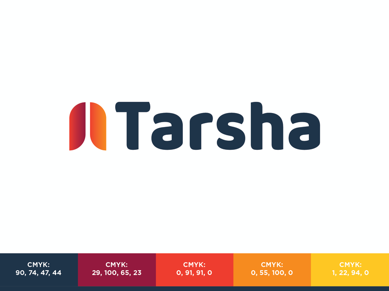 Tarsha Systems brand identity identity design brand branding graphic graphics design logo