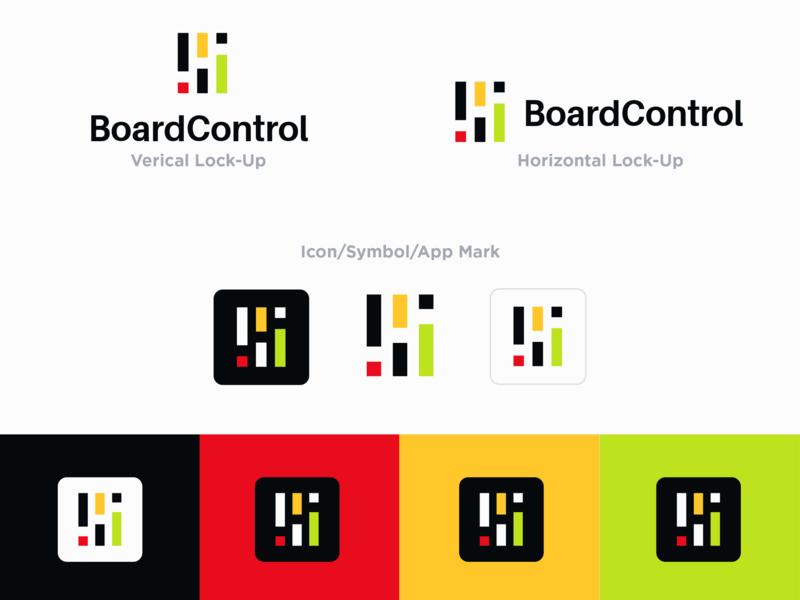 Board Control Logo corporate identity design illustration design brand and identity logo design graphics identity vector branding and identity branding app logo
