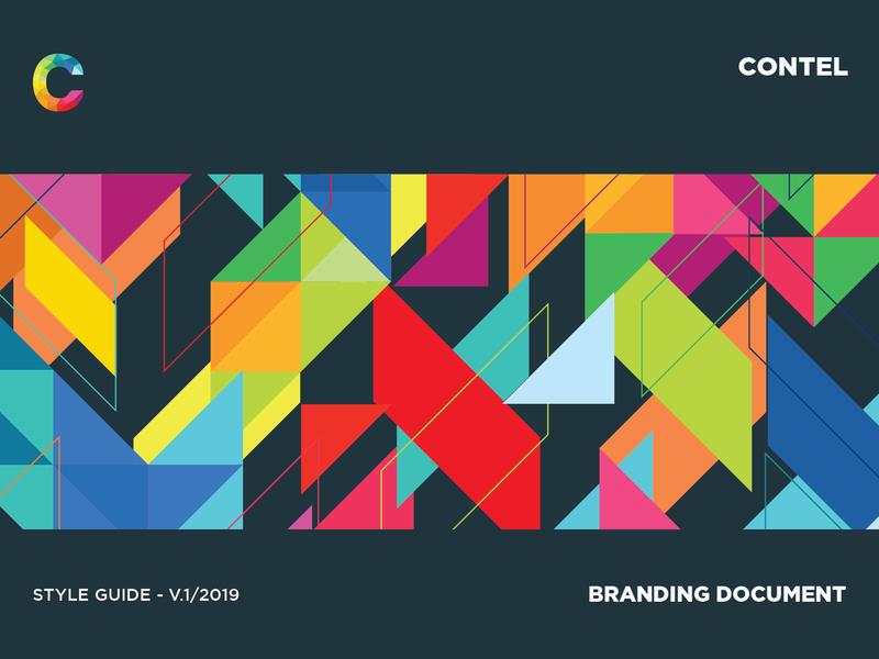 Contel Brand Book brand design logo design branding style guidelines brand identity design brand design logo branding style guides style guide