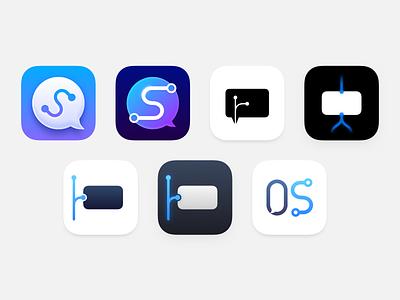"""""""OffShoot"""" App Icon icon app"""