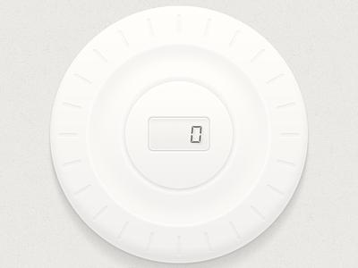 Knob knob value number rotate ios app ui