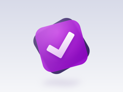 Onmifocus Redesign + Replacement icns onmifocus mac app redesign icon todo check list done gtd icns yosemite