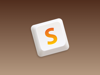 SublimeText Redesign + Replacement icns icns sublimetext mac app icon mavericks code keyboard button s