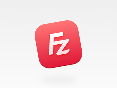 Filezilla Redesign + Replacement icns filezilla icon mac app ftp file sftp server client connect icns