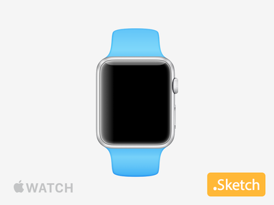 Apple Watch .sketch apple watch iwatch applewatch sketch time device mockup template download free