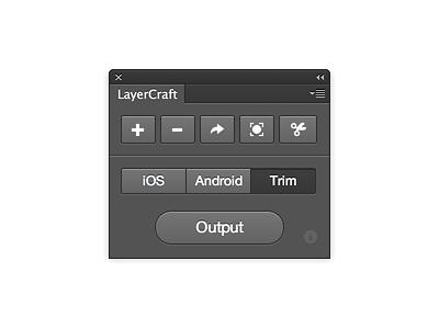 LayerCraft Photoshop Plugin photoshop plugin addon panel slice assets layer ps script action freebie download