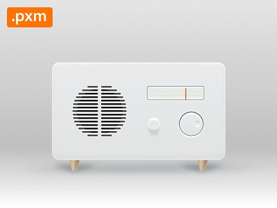 Radio radio pxm download freebie pixelmator icon music player fm