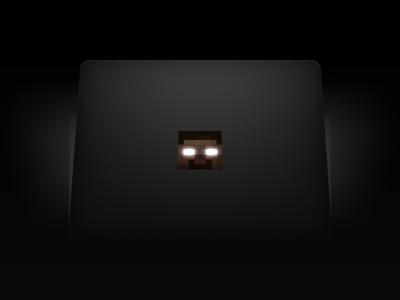 MacBook Herobrine Sticker #Minecraft
