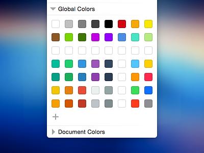 My Sketch Colors sketch colors palette flatuicolors ios colours