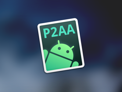 P2AA for Mac p2aa android mac osx app icon dock robot google