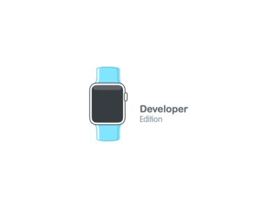 Developer Edition blue edition developer  watch apple